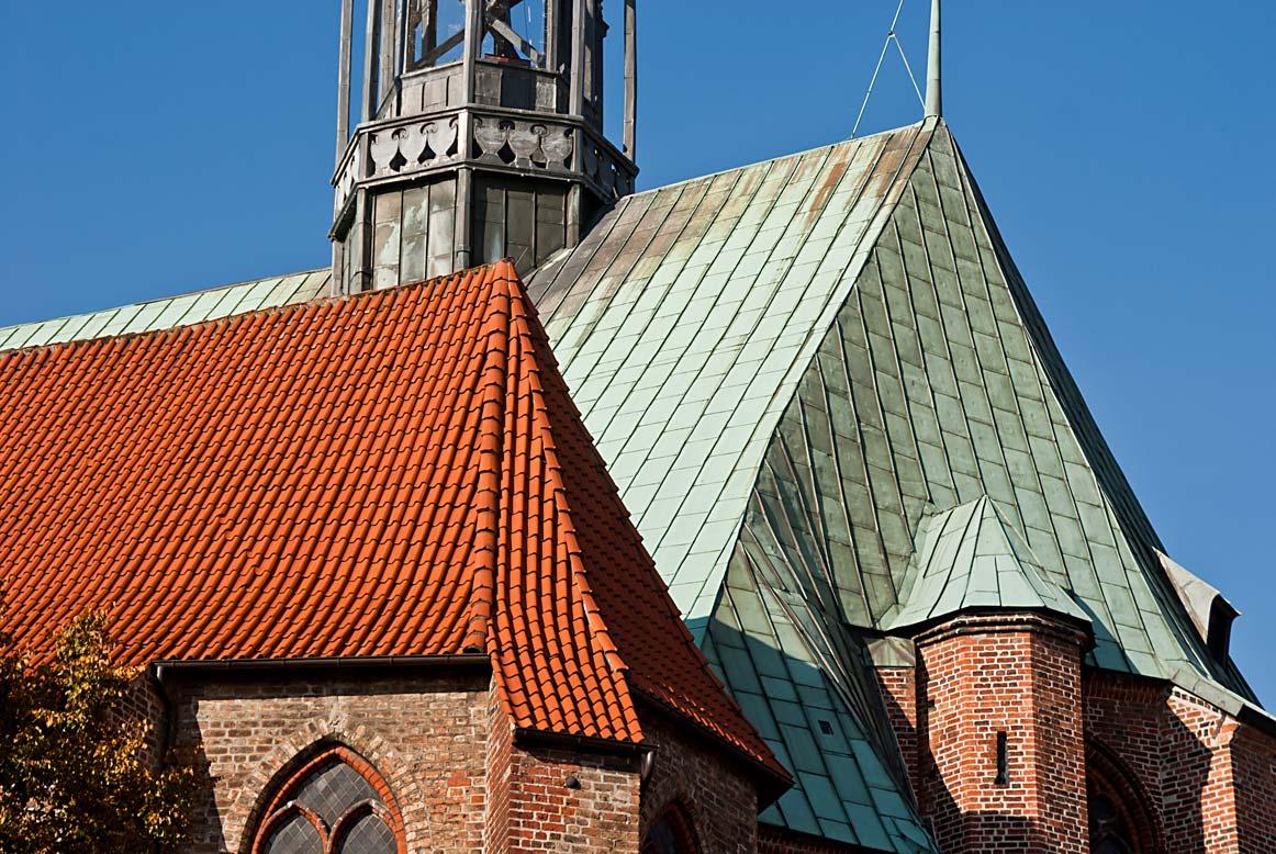 Dachlandschaft Jacobikirche