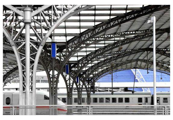 """Dachstruktur - oder """"Einblick mit Durchblick"""""""