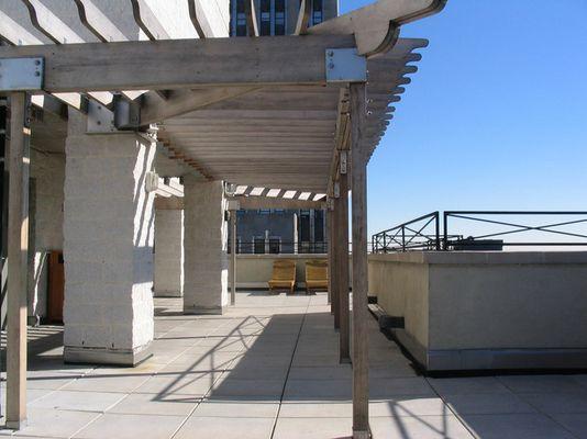 Dachterrasse 36. Etage