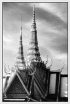 Dachtürme-Royal Palast  Phnom Penh