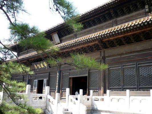 Dacizhenru Hall @ Beihai Park in Beijing