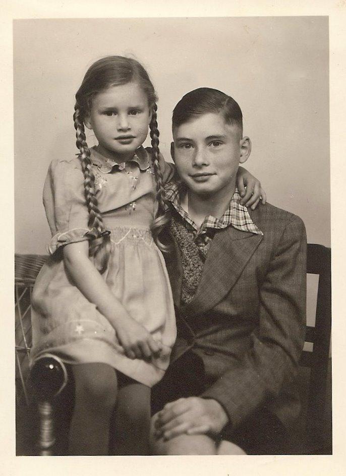 Daddy und seine Schwester
