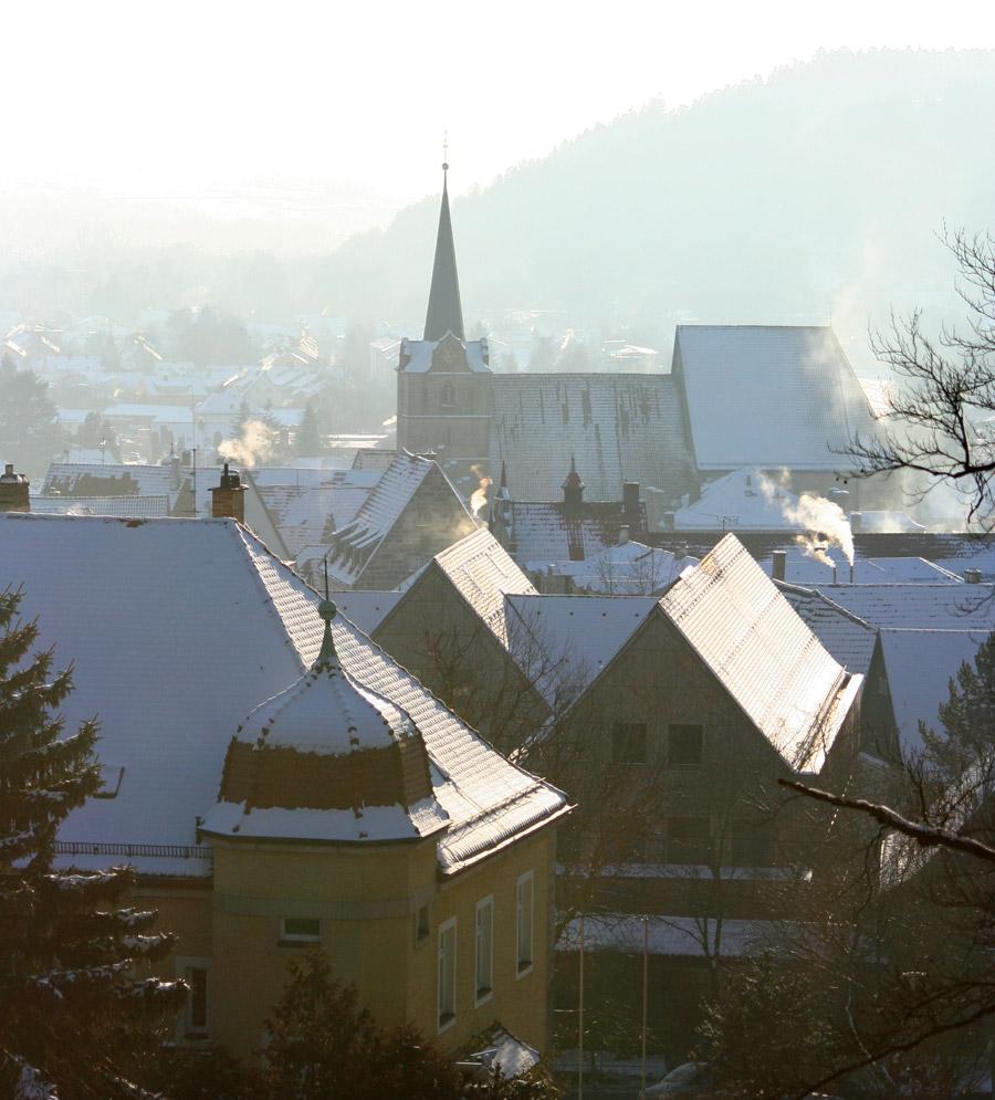 Dächer einer Stadt