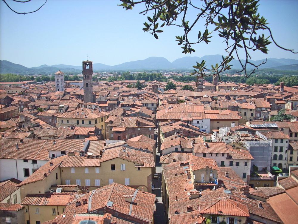 Dächer-Toscana