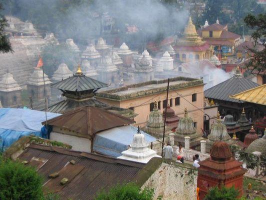 Dächer über Pashupatinath