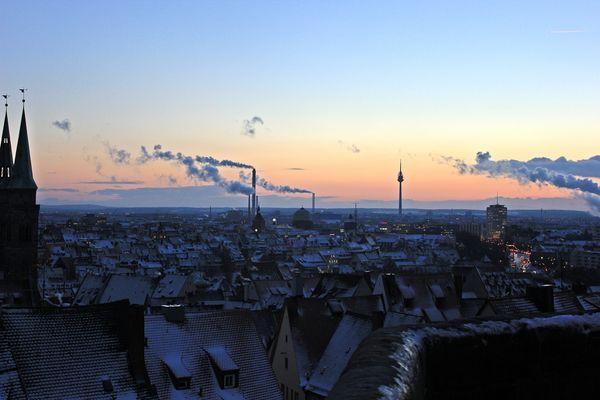 Dächer von Nürnberg