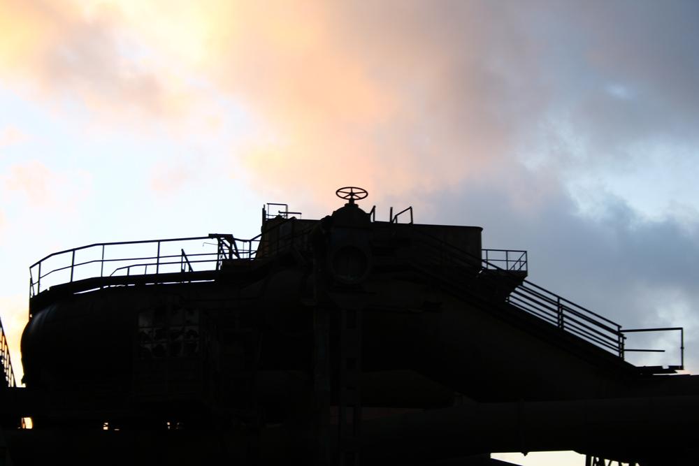 Dämmerstimmung in Bochum