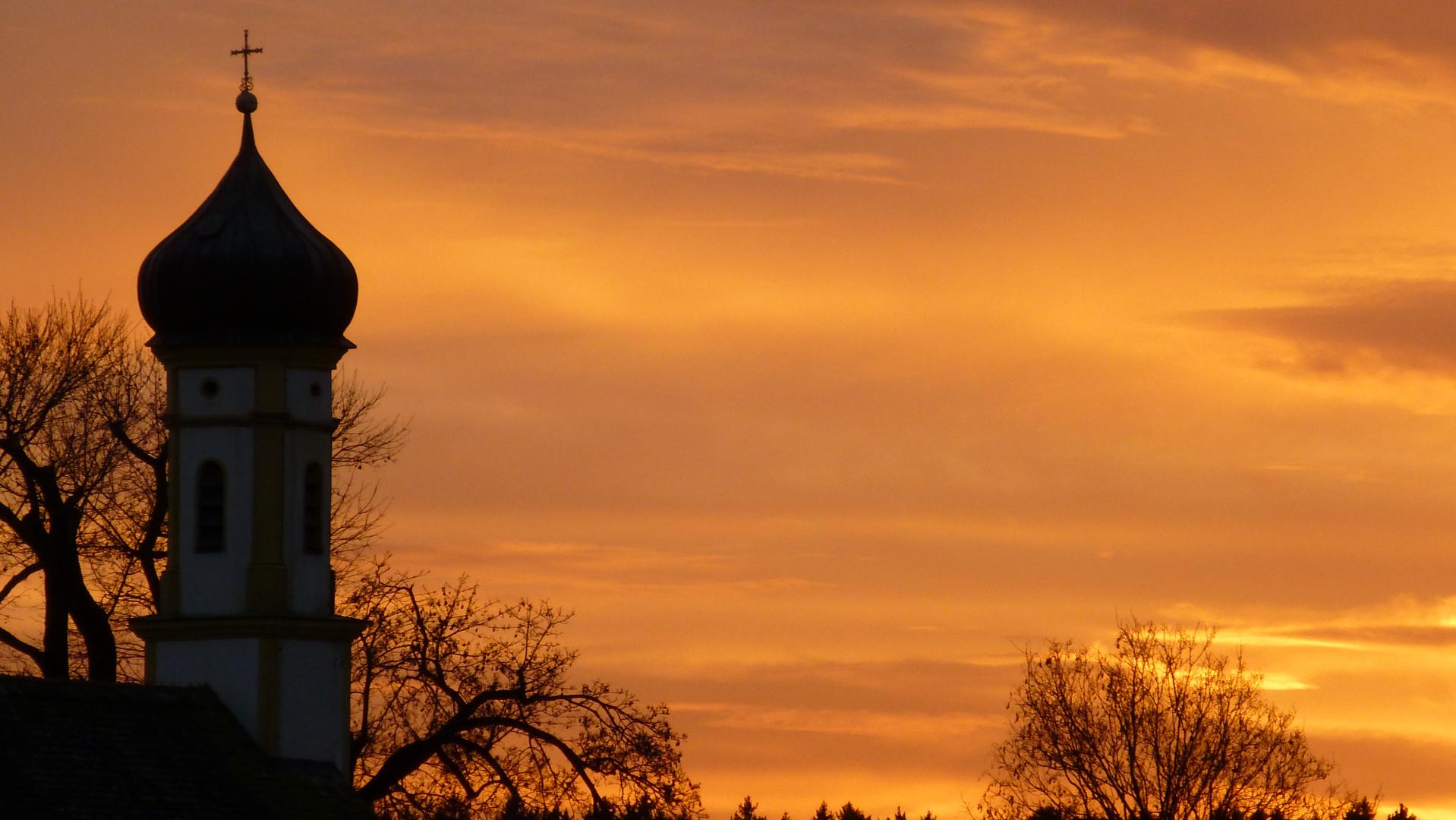 Dämmerung am Heiligen Abend 2012