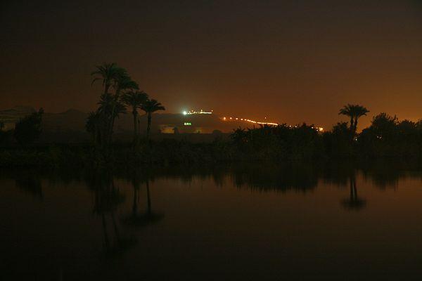 Dämmerung am Nil