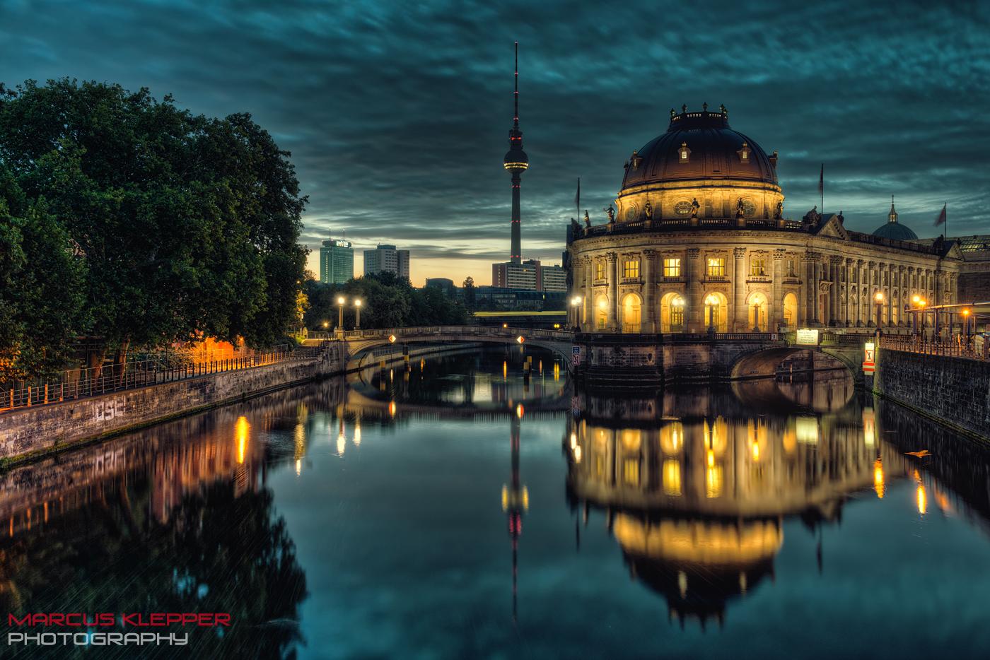 Dämmerung in Berlin