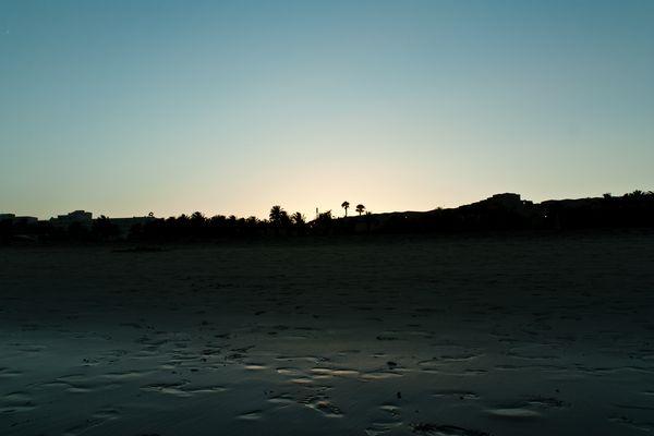 Dämmerung in Costa Calma