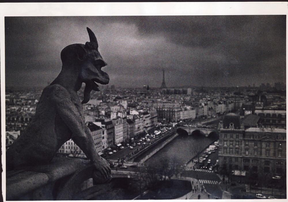 Dämonenblich von Sacre Couer-Paris