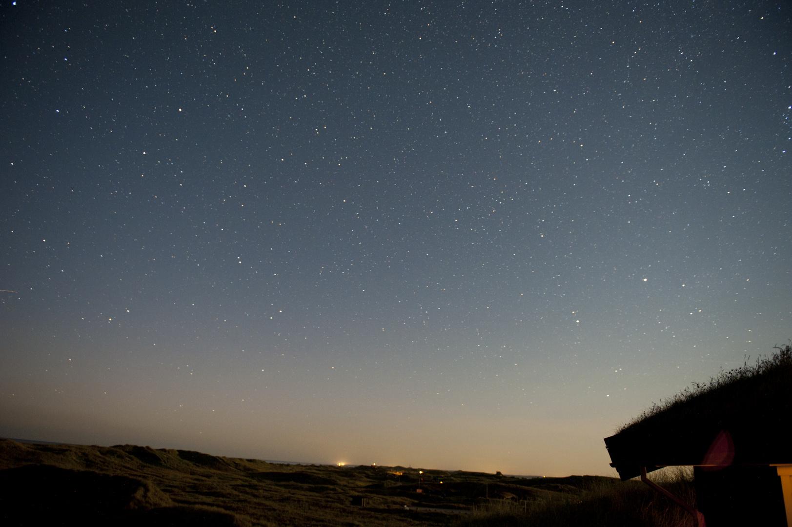 Dänemark bei Nacht