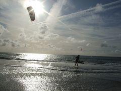 Dänemark - Hvide Sande - Kitesurfing #1