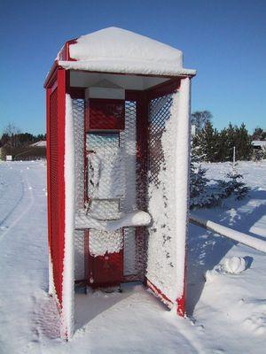 Dänemark - Nach dem Schneesturm