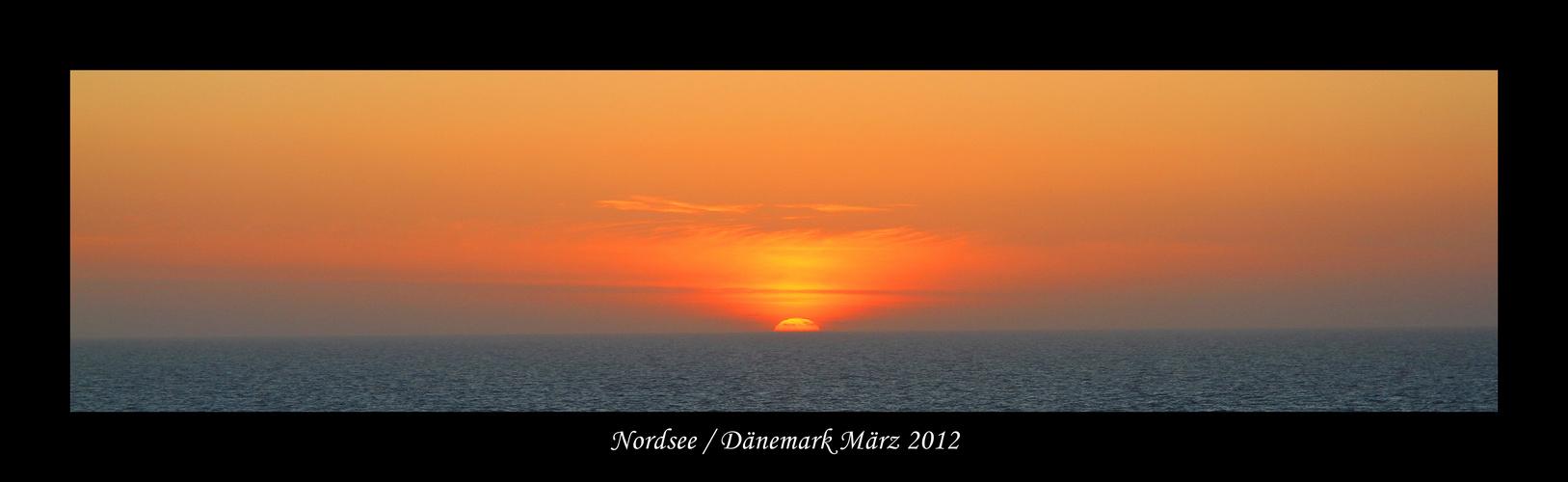 Dänemark / Nordsee März 2012