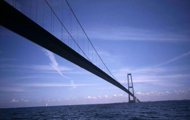Dänemark - Schweden vom Boot aus gesehen ...