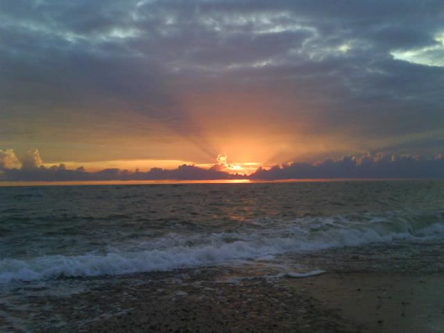 Dänemark - Sonnenuntergang