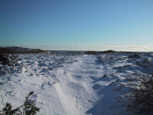 Dänemark - Øster Hurup - Der Weg zum Strand
