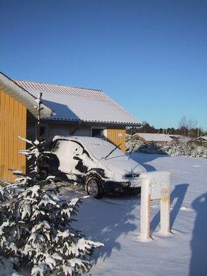 Dänemark - Überraschender Wintereinbruch