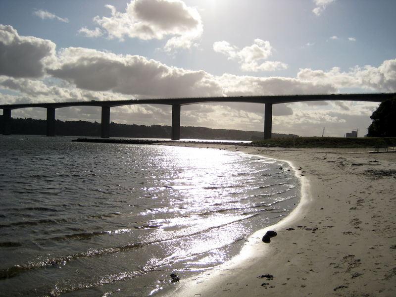 Dänemark, Vejle Fjordbrücke