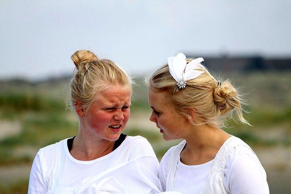 Dänische Mädchen