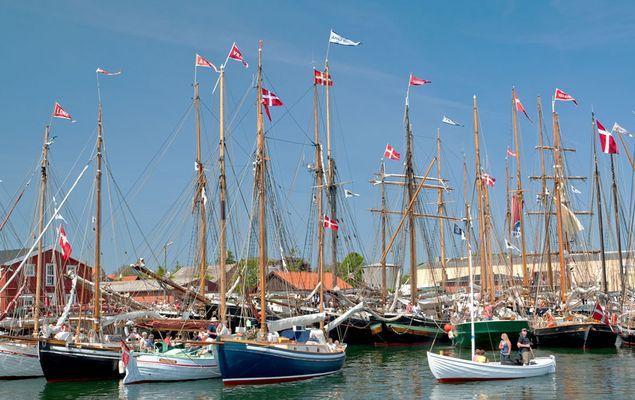 Dänische Schiffsparade