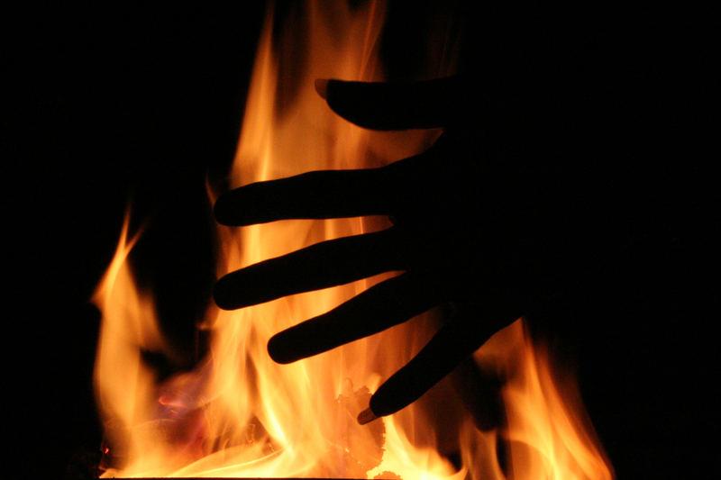 Dafür leg ich die Hand ins Feuer