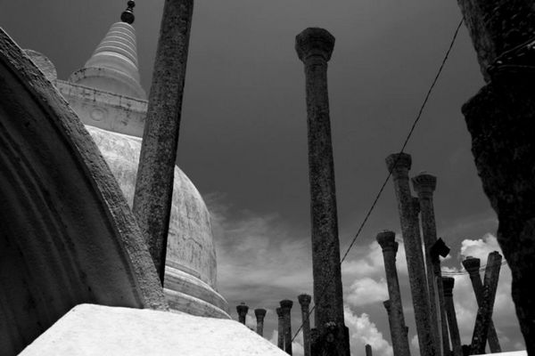 Dagoba in Polonnaruwa