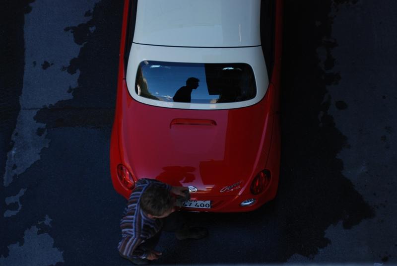 Daihatsu Copen in Scuol