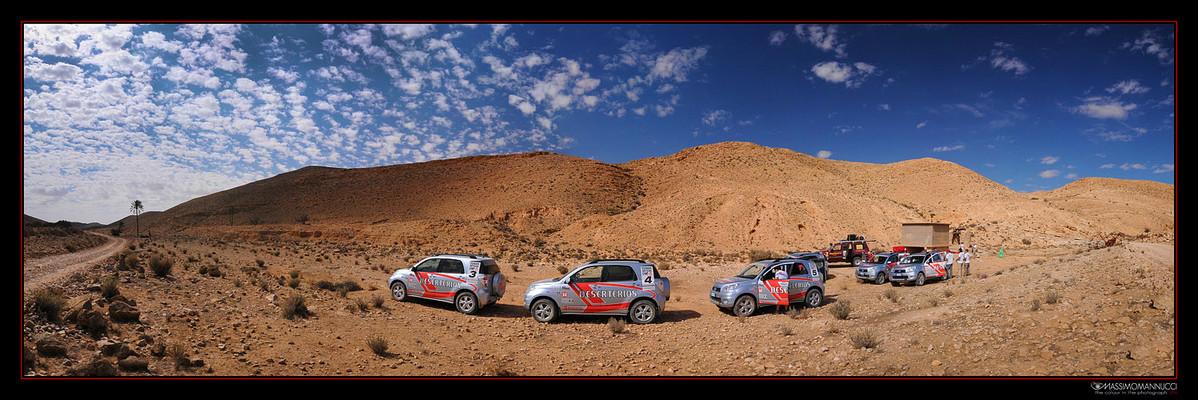 Daihatsu DeserTerios Tunisia Raid 2009