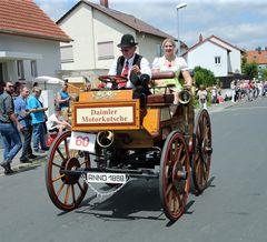 Daimler Motorkutsche 1888