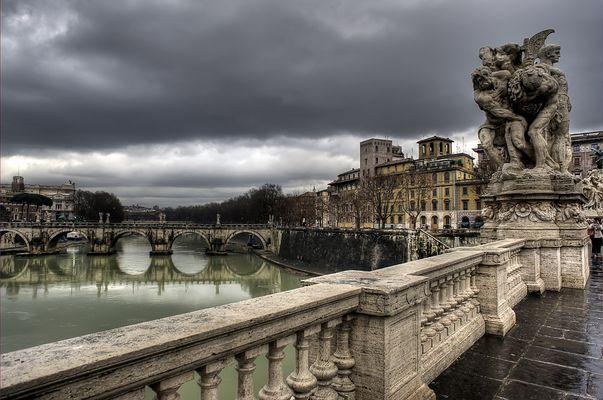 Dal ponte Vittorio Emanuele II