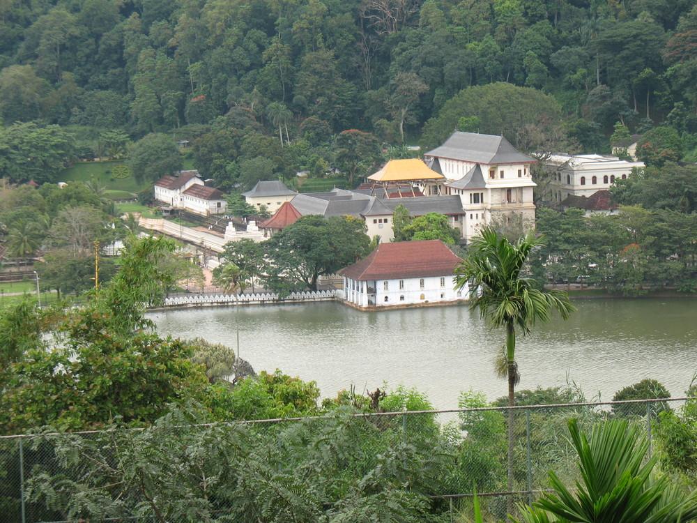 Dalada Maligawa (Tempel des Zahns) in Kandy