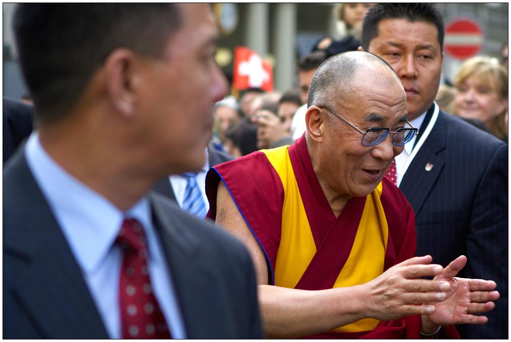 Dalai Lama in Zürich