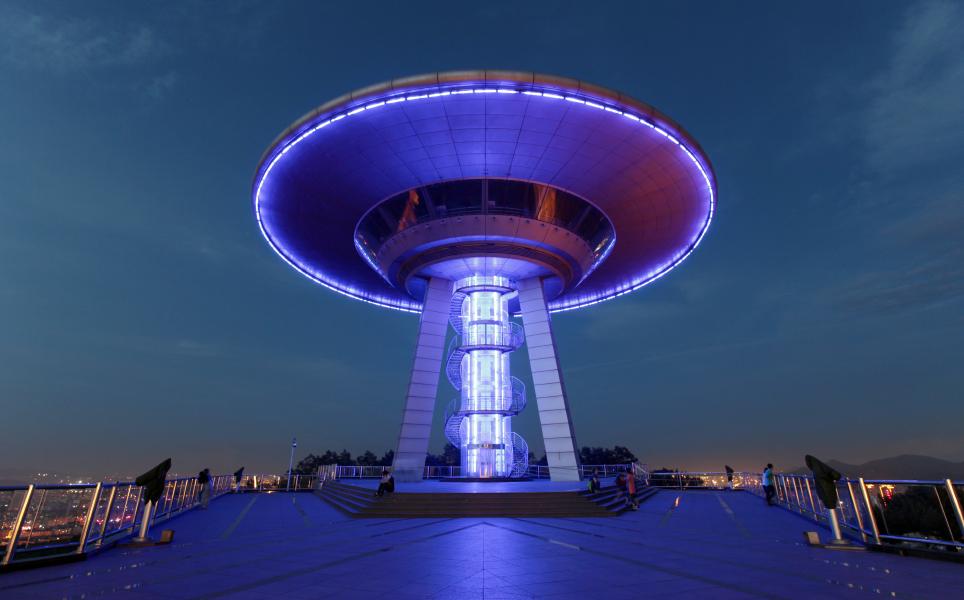 Dalian - UFO night