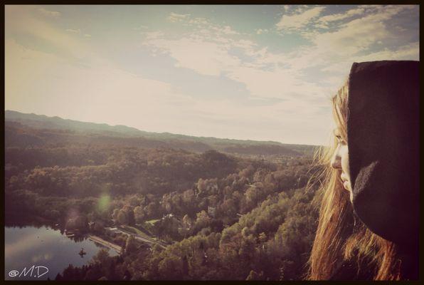Dall' alto io ti vedo..