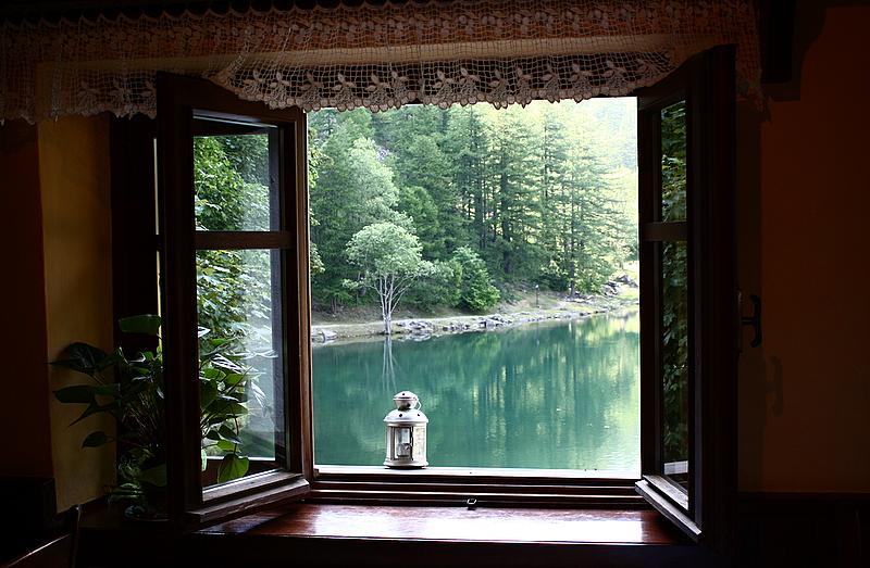 Dalla finestra...