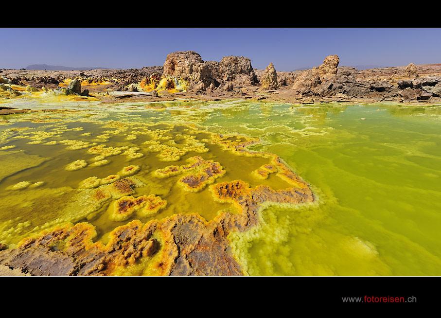 Dallol - Leuchtfarben in der Wüste Danakil