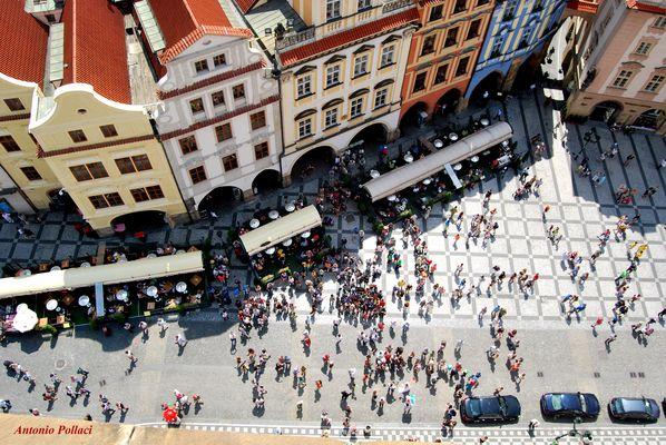 dall'Orologio di Praga