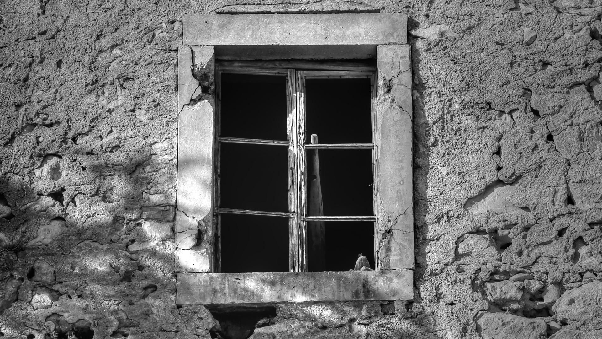 Dalmatien, verlassenes Haus