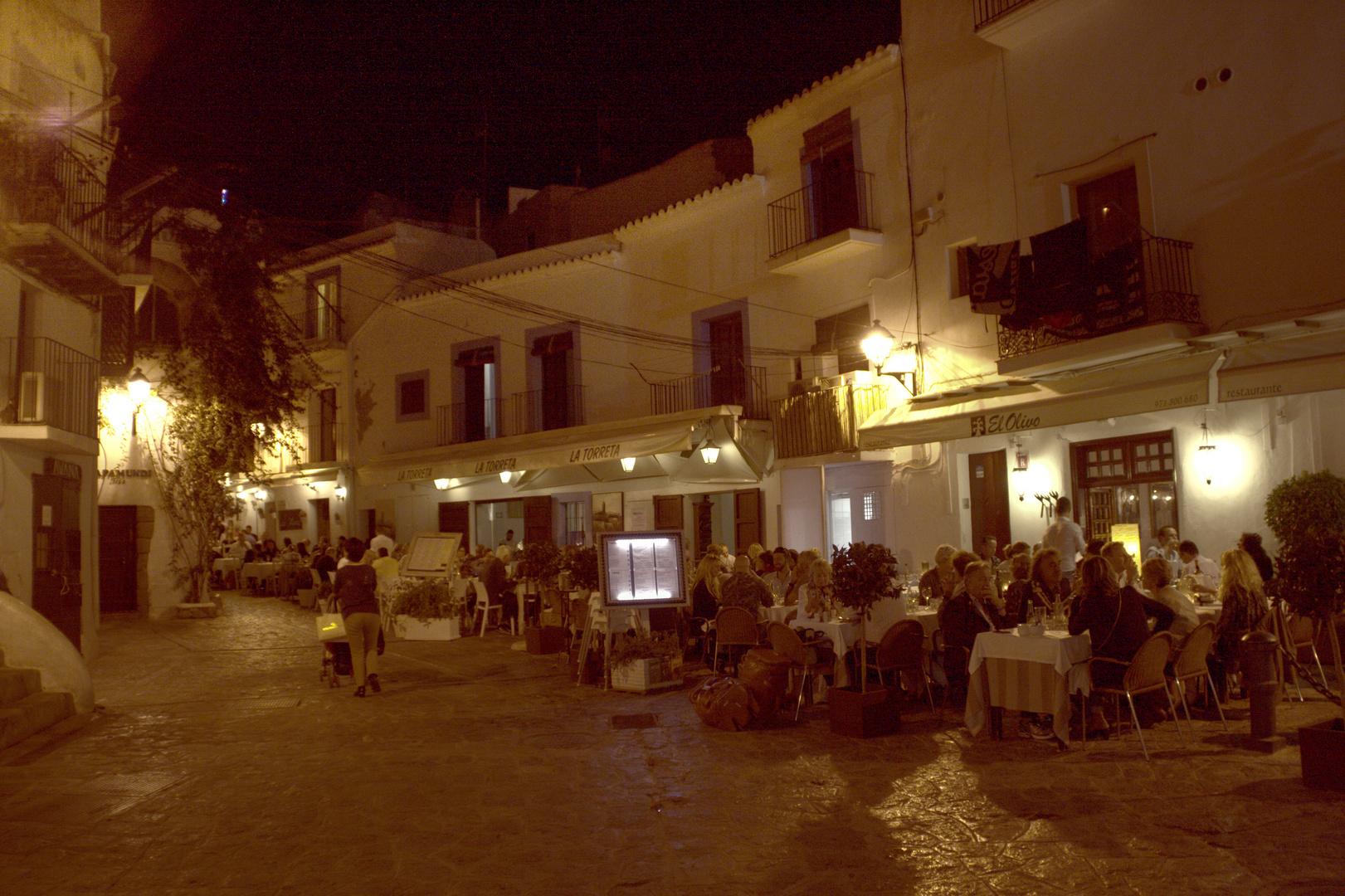 Dalt Vila (Ibiza) by Night