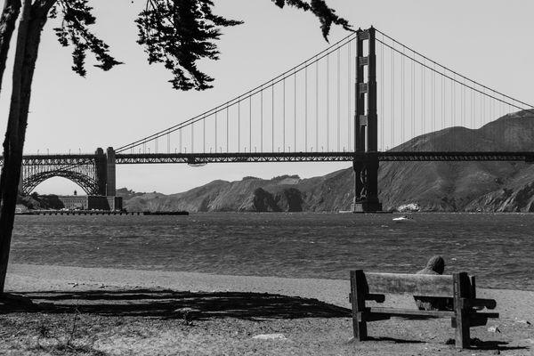 Damals an der Brücke!