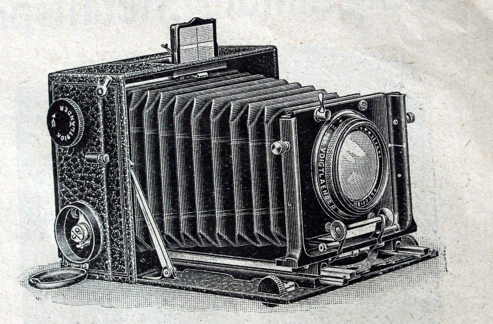 damals ein Wunder- Fotoapparat