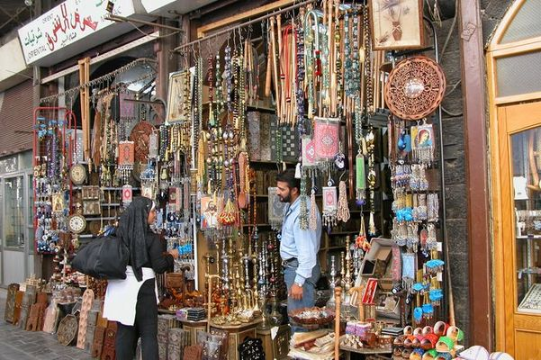 Damaskus: Im Souk Hamidye
