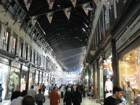 Damaskus: Souk Al-Hamidije