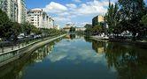 Dambovitza a Bucharest von Stefan Andronache