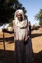 Dame d'age mûr mauritanienne à Sarandogou