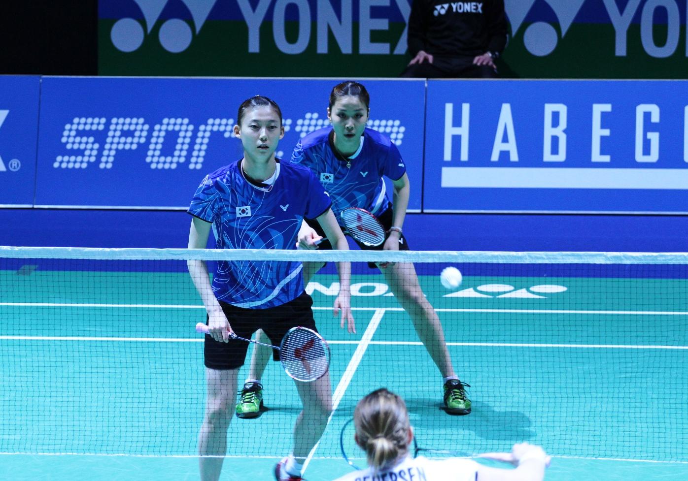 Damendoppel Badminton Swiss Open 2013
