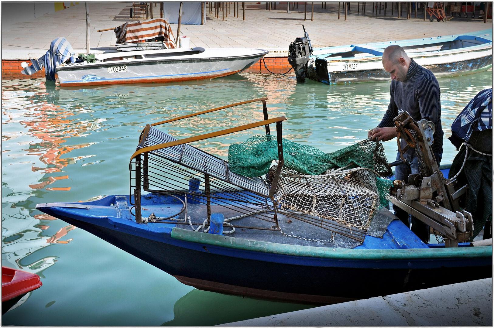 Damit der Fischfang sich auch morgen wieder lohnt